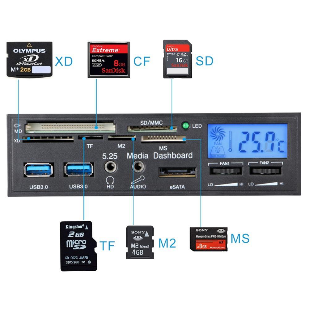 Alta-calidad-SD-Reader-5-25-pulgadas-máquina-de-lector-de-tarjetas-audio-lector-de-tarjetas