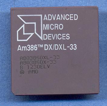 AMD 386 DX 33MHz