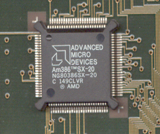AMD 386SX 20MhZ