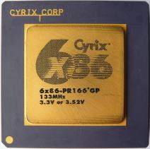 Cyrix 6x86 PR166+ GP rev 3.8 lot B 01