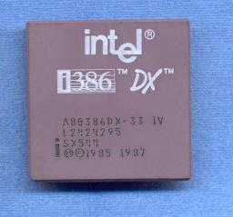 i80386DX-33