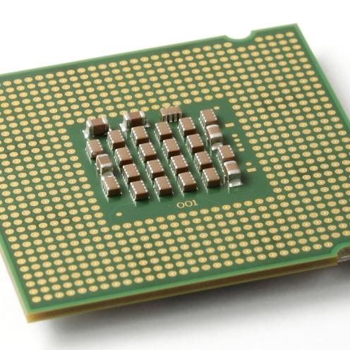 CPU LGA con contactos